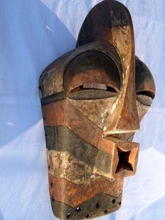 SONGYE KIFWEBE MASK, Democratic Republic of the Congo, formerly Belgian Congo / Congo Belge