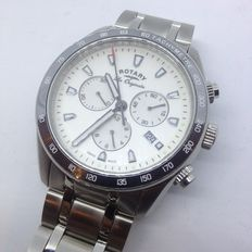 Rotary Legacy Men's Swiss Chronograph Watch Product Code: GB90169/02