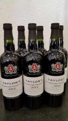 2012 Late Bottled Vintage Port Taylor's – 6 bottles
