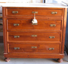 Beautiful wooden chest of drawers from the first half of the 20th century