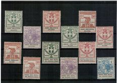 Kingdom of Italy, 1924/1942 – Selection of stamps