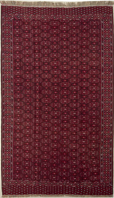 Handwoven kilim Turkmen - 365 x 220 cm - 50 to 100 years old