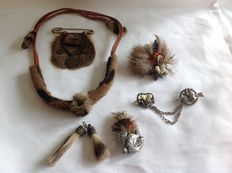 Collection of very special hunting decorations