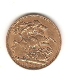 Great Britain - Sovereign 1900 - Victoria - gold.