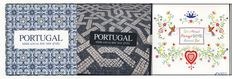 Portugal - 3 coin sets in folders 2009, 2010, 2012 UNC.