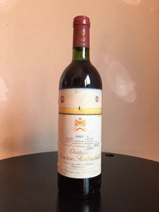 1983 Chateau Mouton Rothschild Baron Philippe - 1 bottle (75cl)