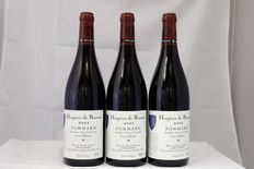 2001 Hospices de Beaune, Pommard Cuvee Billardet, Louis Jadot – 3 bottles (75 cl)