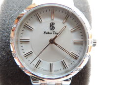 Swiss Time brand – ladies watch ST 810 SSRG- Swiss made – Never worn – Perfect condition