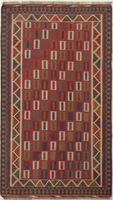 Handwoven/kilim FARS / 288 x 160 / SOUTH IRAN / 30 to 50 years old