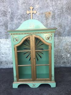 Mid-century gilt carving Tabernacle