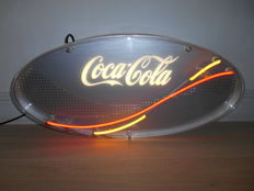 Neon sign for Coca Cola from 1995