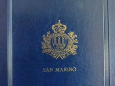 San Marino Collection, 1998–2006 in Marini album – Ordinary mail, sheets, booklets
