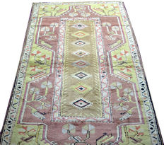 Turkish milas Kazak Wool  Rug Carpet  5.7 x 3.5, 173 x 106 cm