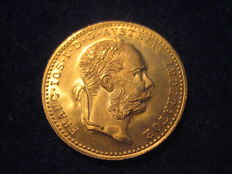 Austria - 1 Ducat 1915 - freshly minted - gold