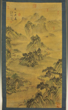 Big hanging scroll - China - mid/second half 20th century