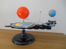 Planetarium Tellurium - model of Earth, the sun and the moon for learning purposes