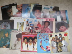 Soul, Funk  Various artists - Lot of sixteen (16) LP's and MAXI's