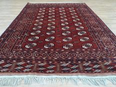 Very beautiful Persian TURKMEN – approx. 300 x 203 cm – with certificate of authenticity – approx. 50 years old