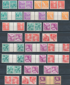 Switserland 1936/1953  - Combinations Michel unit stamp booklets