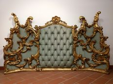 A Baroque headboard for a bed - Italy - 18th century