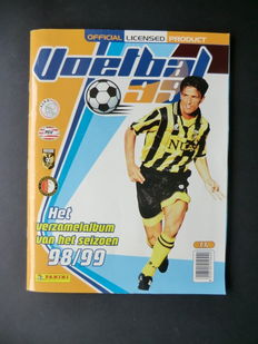 Panini - Voetbal 99 - Complete album - Including original order form.