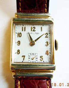 Hamilton Lester – Art Déco unisex watch – 1941