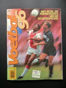 Panini - Voetbal 96 - Complete album - Including original order form.
