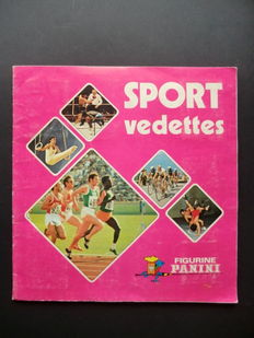 Panini - Sport vedettes 1974 - complete album - In good condition.