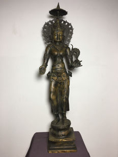 Bronze statue from Hinduism - India - late 20th century
