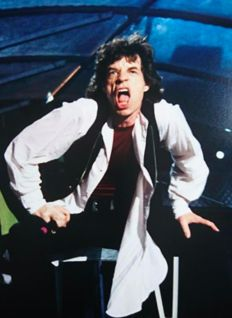 Original photo from Mick Jagger (The Rolling Stones)
