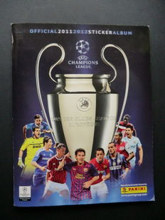 Panini - UEFA Champions League 2011/2012 - Complete album - Including original order form