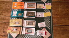 4 Game & Watch games boxed