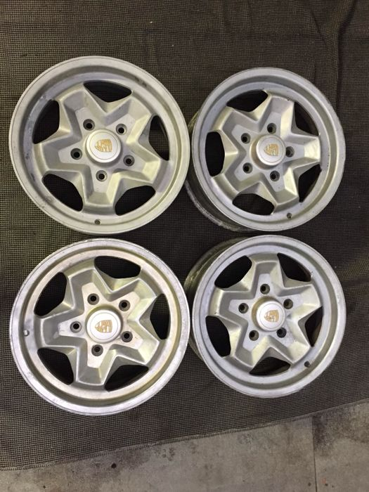 Porsche ATS Cookie Cutter wheels - 6 x 15 - (1977)