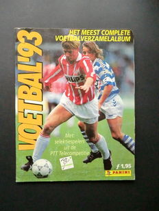 Panini - Voetbal 93 - Complete album - Including 2 original order forms.