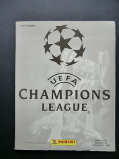 Panini - UEFA Champions League 1999/2000 - Complete album + Empty original sticker box.