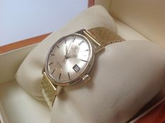 OMEGA Seamaster De Ville 14 kt gold watch from the 1960s.