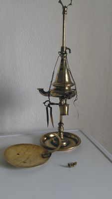 Vintage lamp, from Portugal, 1910-1920