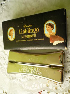M. Hohner harmonica, double-sided - Unsere Lieblinge - C and G major - Made in Germany + original packaging