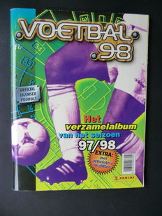 Panini - Voetbal 98 - Complete album - Including original order form.