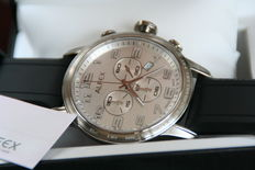 Alfex Chronograph Swiss made - men's wristwatch - 2016 New Old Stock