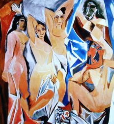 Pablo Picasso (after) - The Women of Avignon.