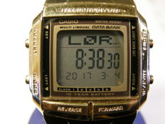 "casio men's "" illumination "" multi lingual ""data bank"" with day/date/month/year model: DB 360 - 2515"