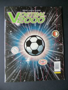 Panini - Voetbal 2000 - Complete album - Including original order form.