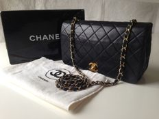 Chanel - classic flap bag with shoulder strap
