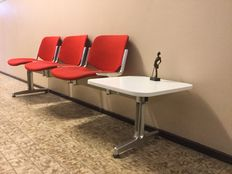 G Piretti for Castelli, Waiting Room set, 3 persons.