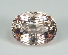 Morganite ( Beryl ) - 8.10 ct