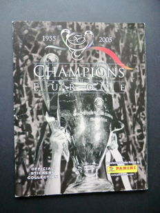 Panini - Champions of Europe 1955-2005 - Complete album - Wonderful album.