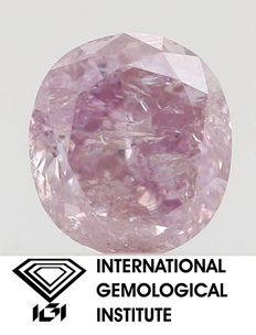 0.33 ct natural diamond fancy certificate IGI