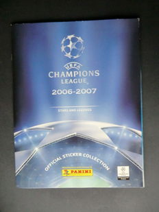 Panini - UEFA Champions League 2006/2007 - Complete album - Beautiful condition