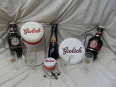 Lot of 3 flip-top bottles XL and Grolsch advertising objects from the second half of the 20th century.
